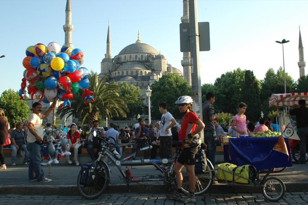 L'arrivo ad Istambul