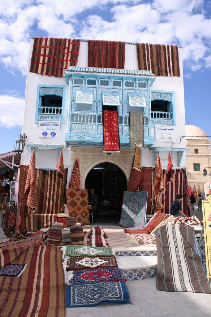 Impossibile tornare dalla Tunisia senza un tappeto !